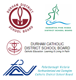 Logos for various school boards