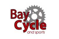 Baycycle and sports logo logo